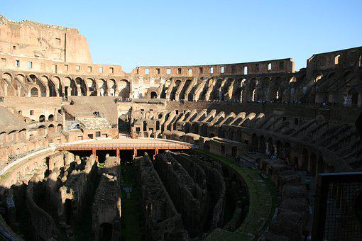 Colosseum, Rome, Italy, Places Of Interest