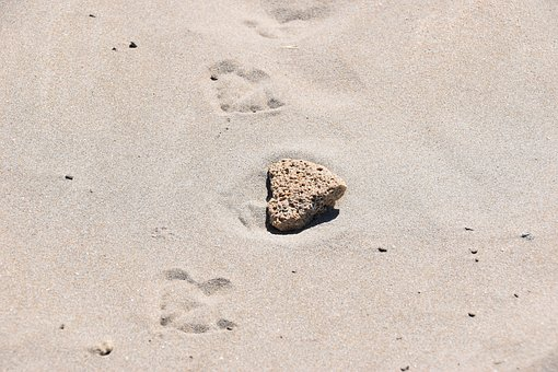 Heart, Love, Sand, Romantic, Sète