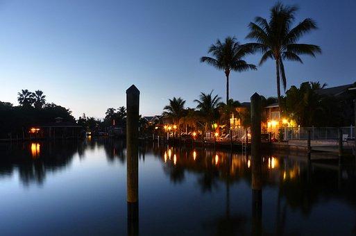 Twilight, Sky, Sunset, Sea, Water, Atmosphere, Florida