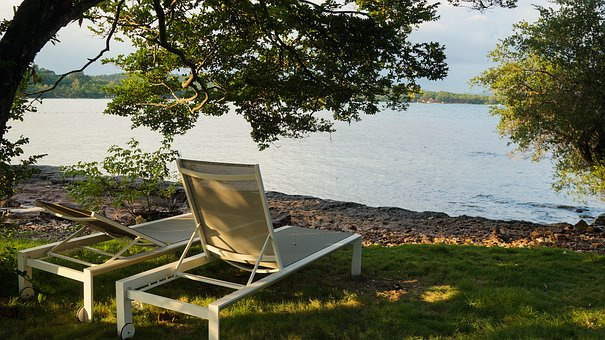 Sea, Tree, Beach Chair, Tranquil, Island, Travel