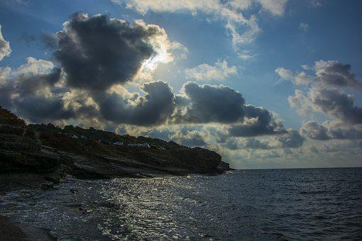 Cloud, Marine, Sky, Water, Ocean, Beach, Nature, Blue