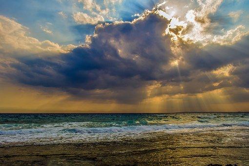 Overcast, Sky, Clouds, Cumulus, Nature, Weather