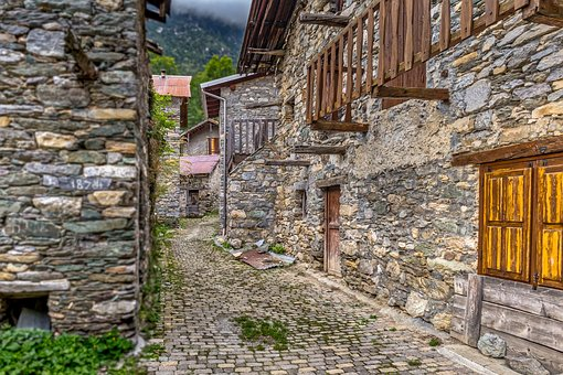 Street, Stone, Cobbled, Old, Pavement, Architecture