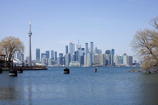 Toronto, Canada, Ontario, Cn Tower, Skyline