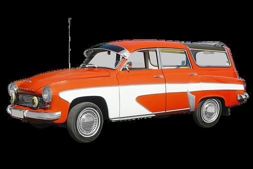 Pkw, Oldtimer, Wartburg 312, Combi, Tourist, Camping