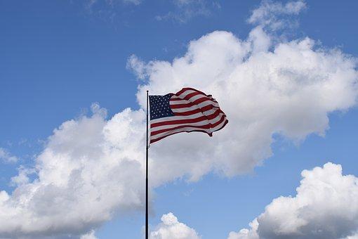 American Flag, Flag, Usa, American, Patriot, Patriotic