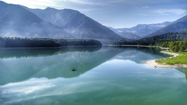 Silvenstein Memory, Nature, Landscape, Bavaria, Water