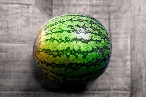 Watermelon, Table, Fruit, Food, Healthy, Fresh