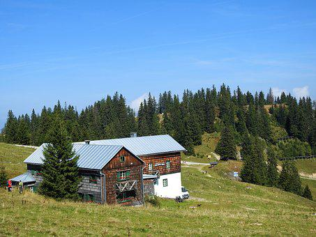 Hut, Einkehr, Break, Nature, Rest Pause, Alm, Alpine
