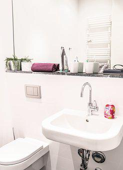 Bad, Bathroom Sink, Mirror, Apartment, Room