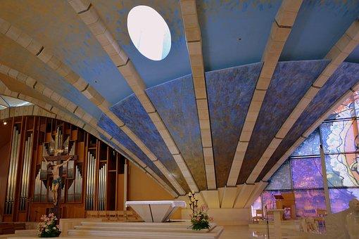 Altar, Church, Inside, Religion, Architecture