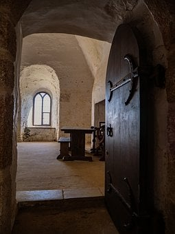 Medieval, Architecture, Arch, Arched, Door, Window