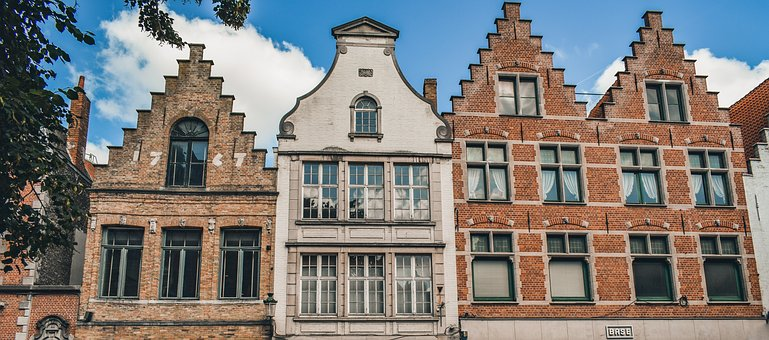 Brugge, Buildings, Architecture, City, Belgium
