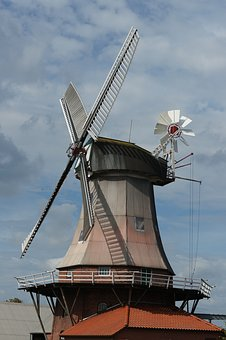 Mill, Wing, Windmill, Sky, Wind, Architecture, Building