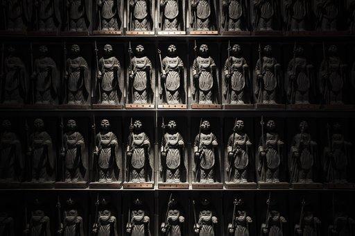 Buddha Statue, Buddhism, Faith, Japan, Asia, Culture