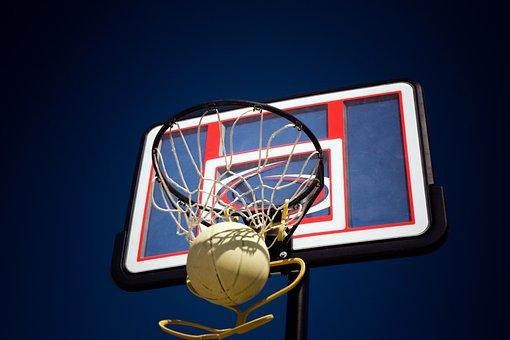 Basketball, Rim, Shot, Hoop, Sport, Play, Game