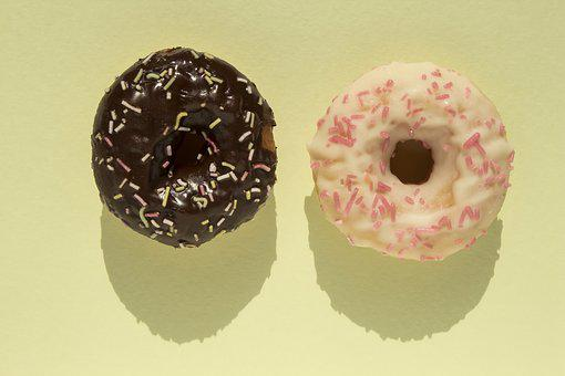 Donut, Mini Donut, Small, Round, Cake, Torus, Glaze