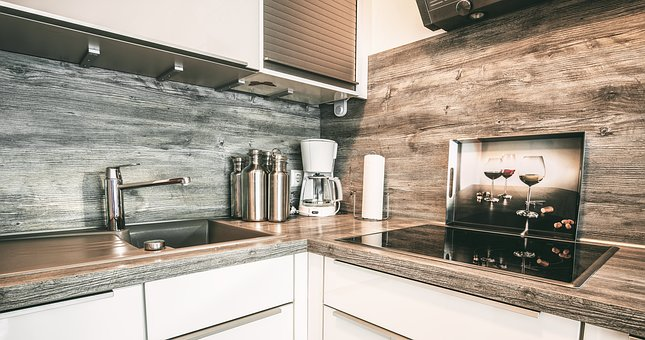 Kitchen, Cook, Bathroom Sink, Oven Apartment, Room
