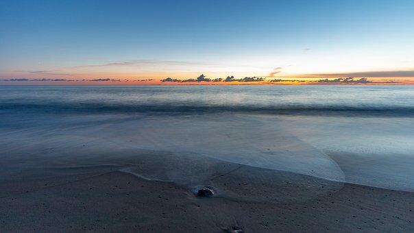Denmark, Coast, Sea, Beach, Nature, Landscape