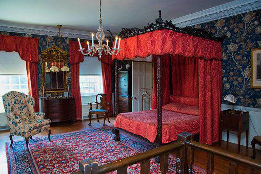 Historical, Early 1900's, Bedroom, Estate