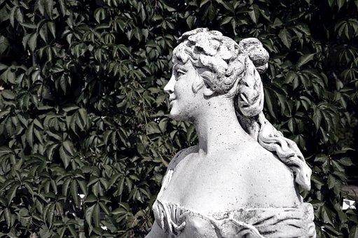 Statue, Woman, Girl, Sculpture, Figure, Female, Art