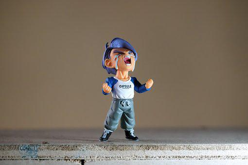 Boy, Make, Toy, Figurine, Small, Japanese, Cartoon