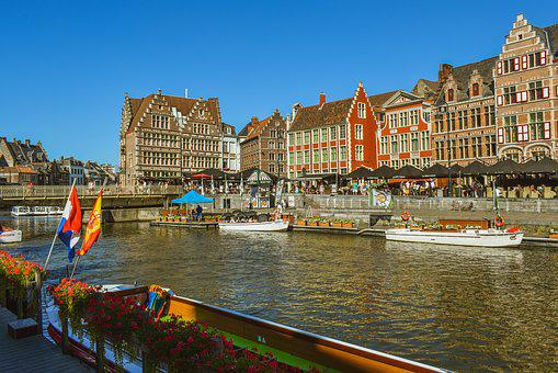 Ghent, Belgium, Architecture, Travel, City, Tourism