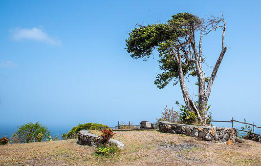 Monument, Hilltop, St Vincent And The Grenadines