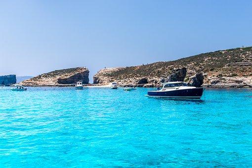 Malta, Summer, Water, Leisure, Holidays, Blue, Travel