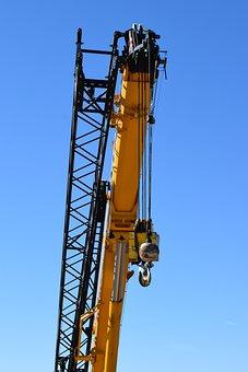 Crane, Labor Day, Work, Industrial, Business, Builder