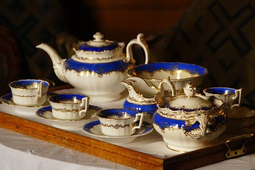Noble, Invitation, Tee, Tableware, Tea, Old