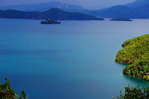 Lake, China, Landscape