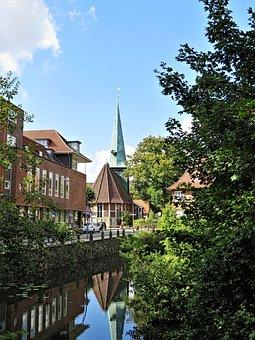 Church, Hamburg, Mountain Village, Germany, St