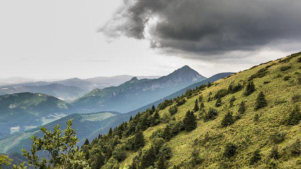 Nature, Mountains, Landscape, View, Scenery, Panorama