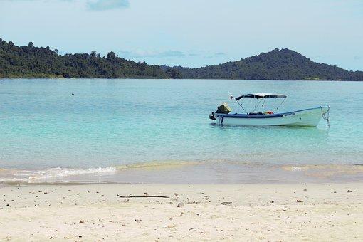 Paradise, Beach, Palm Trees, South Sea, Turquoise
