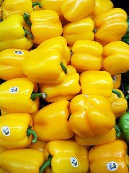 Vegetables, Pepper, Yellow