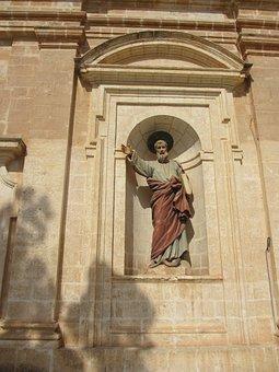 Statue, Church, Malta