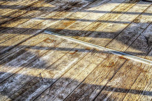 Wood, Ground, Planks, Shadow, Light, Sun, Sunset