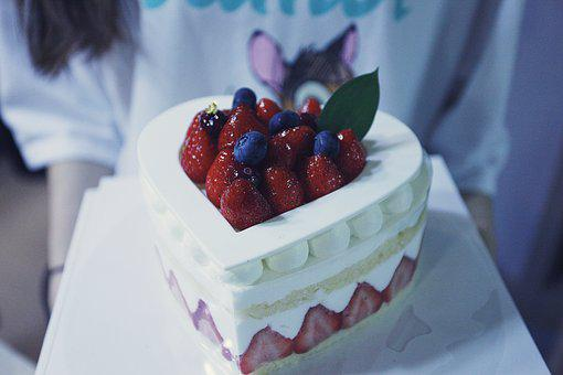 Cake, Birthday, Congratulations, Dessert, Food, Sweet