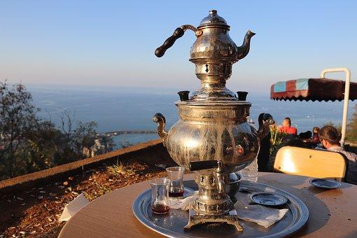 Trabzon, Samovar, Tee, Tea, Turkey