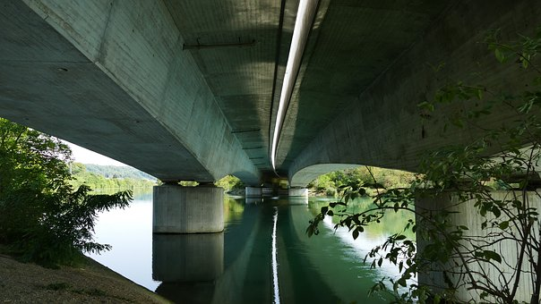 Nature, Landscape, Architecture, Traffic, River