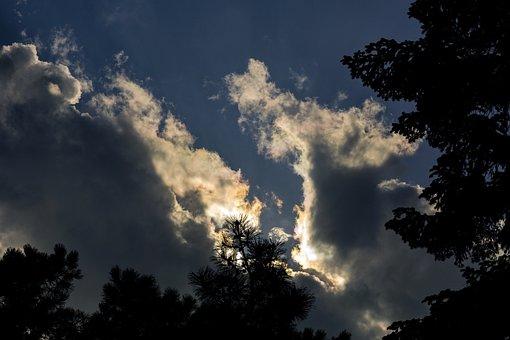 Cloud, Sunset, Landscape, In The Evening, Twilight