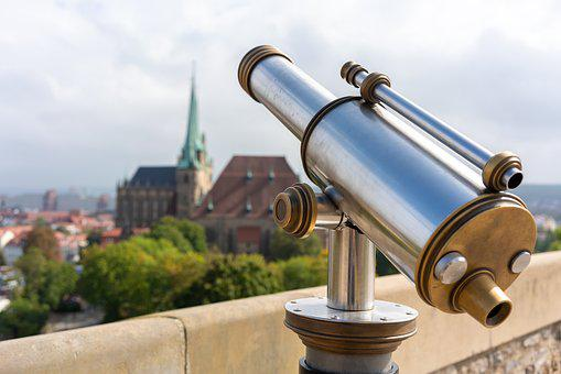 Telescope, Binoculars, Watch, View, Optics, See