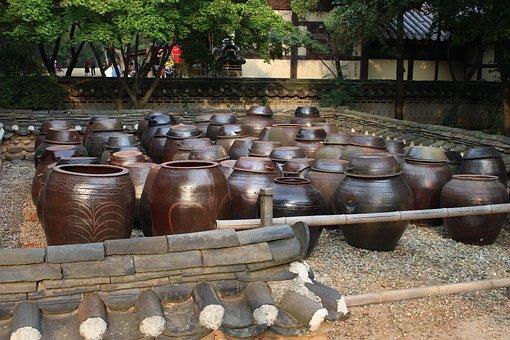 Folk Village, Nature, Wood, River, Korean Folk Village