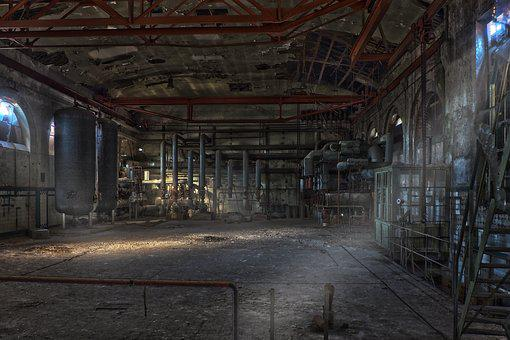 Lost Places, Factory, Pforphoto, Industry, Abandoned