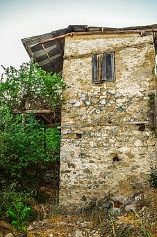 Old House, Stone, Abandoned, Architecture, Traditional