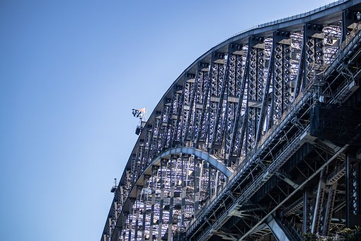 Sydney, Harbour, Bridge, Water, Australia, Landmark