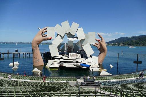 Bregenz, Seebühne, Carmen, Stage Design, Georg Bizet