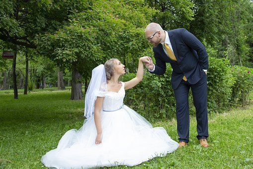 Bride, The Groom, Love, Couple, Woman, Marriage, Man
