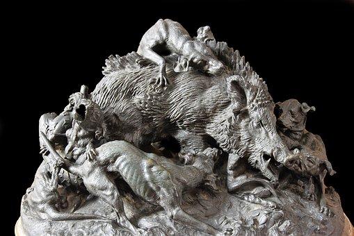 Castle Of Compiègne, France, Bronze, Sculpture, History